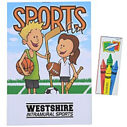 View a larger, more detailed picture of the Activity Pad Fun Pack - Sports Fun