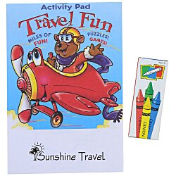 View a larger, more detailed picture of the Activity Pad Fun Pack - Travel Fun