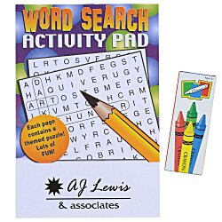 View a larger, more detailed picture of the Activity Pad Fun Pack - Word Search
