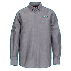 View a larger, more detailed picture of the Tulare EZ-Care LS Oxford Shirt - Men s