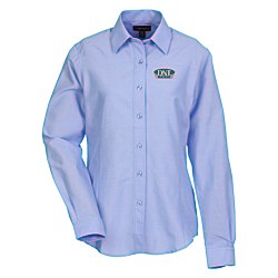 View a larger, more detailed picture of the Tulare EZ-Care LS Oxford Shirt - Ladies