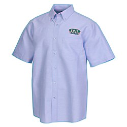 View a larger, more detailed picture of the Tulare EZ-Care SS Oxford Shirt - Men s