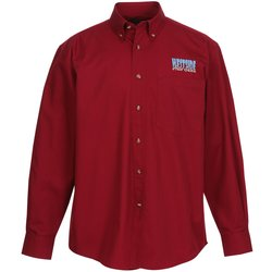 View a larger, more detailed picture of the Capulin EZ-Care Fine Line Twill Shirt - Men s
