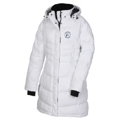 View a larger, more detailed picture of the Balkan Insulated Quilted Long Length Jacket - Ladies