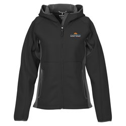 View a larger, more detailed picture of the Ferno Color Block Hooded Jacket - Ladies