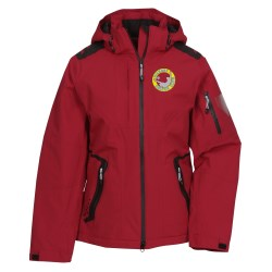 View a larger, more detailed picture of the Elias Insulated Hooded Waterproof Jacket-Ladies -Closeout