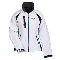 View a larger, more detailed picture of the Katavi Color Block Soft Shell Jacket - Ladies