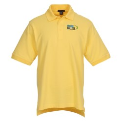 View a larger, more detailed picture of the Ayer Cotton Pique Polo - Men s