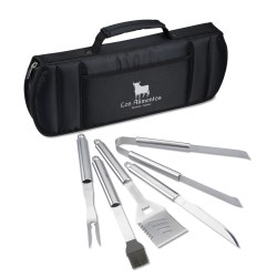View a larger, more detailed picture of the Grill Master Deluxe BBQ Kit - Closeout