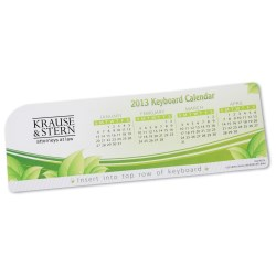 View a larger, more detailed picture of the Keyboard Calendars - Leaves