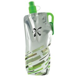 View a larger, more detailed picture of the Flatout Brights Foldable Sport Bottle - 30 oz