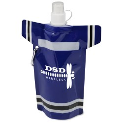 View a larger, more detailed picture of the T-Shirt Foldable Sport Bottle - 16 oz
