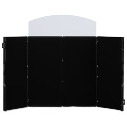 View a larger, more detailed picture of the Double Fold Tabletop Display - 4 - Blank