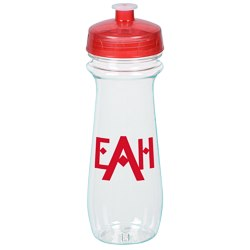 View a larger, more detailed picture of the Clear Impact Flared Sport Bottle - 16 oz