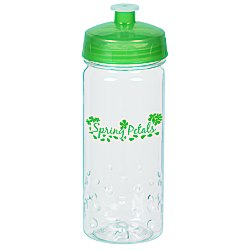 View a larger, more detailed picture of the Clear Impact PolySure Inspire Sport Bottle - 16 oz