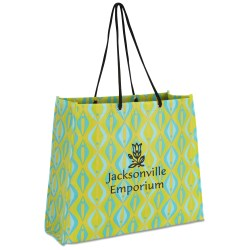 View a larger, more detailed picture of the Non-Woven Swanky Shopper - Diamond - Closeout
