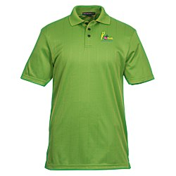 View a larger, more detailed picture of the Performance Fine Jacquard Polo - Men s