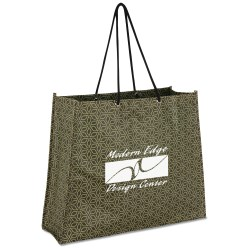View a larger, more detailed picture of the Non-Woven Swanky Shopper - Star - Closeout