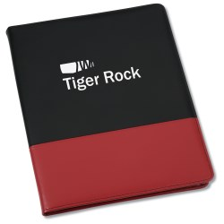 View a larger, more detailed picture of the Associate Zippered Padfolio - 24 hr
