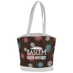 View a larger, more detailed picture of the Vegas Tote - Daisy