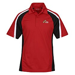 View a larger, more detailed picture of the Tricolor Micropique Performance Polo - Men s
