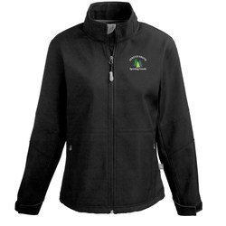 View a larger, more detailed picture of the Cavell Soft Shell Jacket - Ladies - 24 hr