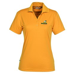 View a larger, more detailed picture of the Moreno Textured Micro Polo - Ladies - 24 hr