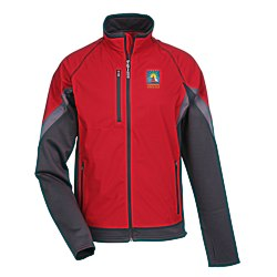 View a larger, more detailed picture of the Jozani Hybrid Soft Shell Jacket - Men s - 24 hr