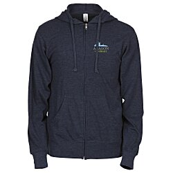 View a larger, more detailed picture of the Independent Trading Co 4 5 oz Full Zip Hoodie-Embroidered