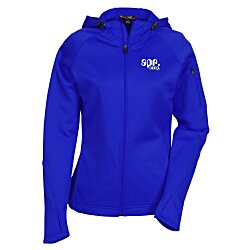 View a larger, more detailed picture of the Tech Fleece Full Zip Hooded Jacket - Ladies