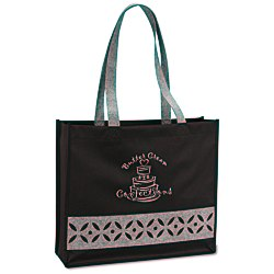 View a larger, more detailed picture of the Cutout Accent Tote