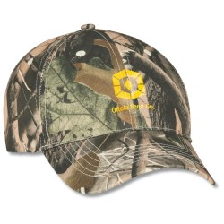 View a larger, more detailed picture of the Polyester Camo Hunter Cap - Transfer