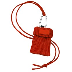 View a larger, more detailed picture of the Cell Phone Sock with Cord Lanyard - Closeout