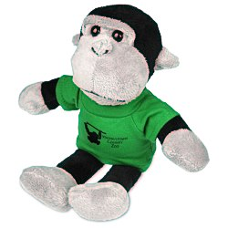 View a larger, more detailed picture of the Mascot Beanie Animal - Gorilla