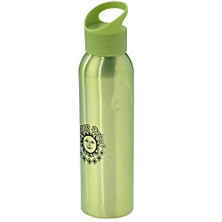 View a larger, more detailed picture of the Angle Up Aluminum Sport Bottle 22 oz