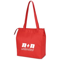 View a larger, more detailed picture of the Easy Carry Insulated Shopping Bag - Closeout