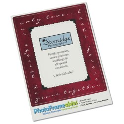 View a larger, more detailed picture of the Removable Picture Frame Decal - 2 x 3 - Snapshot