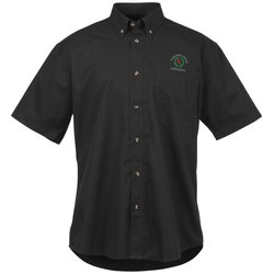 View a larger, more detailed picture of the Capulin EZ-Care SS Fine Line Twill Shirt - Men s