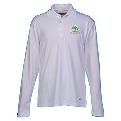 View a larger, more detailed picture of the Brecon Long Sleeve Moisture Wicking Polo - Men s