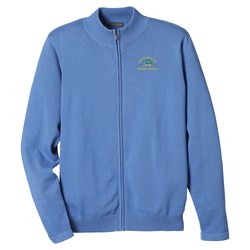 View a larger, more detailed picture of the Varna Full Zip Sweater - Men s - Closeout