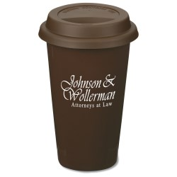 View a larger, more detailed picture of the Terra Coffee Cup - 11 oz - Closeout Color