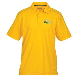 View a larger, more detailed picture of the Dunlay MicroPoly Textured Polo - Men s - 24 hr