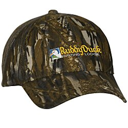 View a larger, more detailed picture of the Outdoor Cap Value Camo Hat - Mossy Oak Breakup