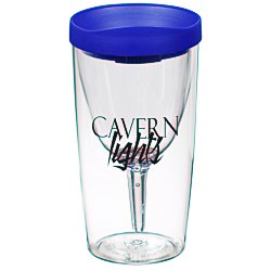 View a larger, more detailed picture of the Vino2Go Wine Tumbler - 10 oz