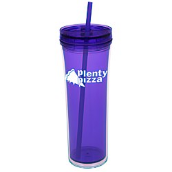 View a larger, more detailed picture of the Boost Tumbler with Straw - 20 oz