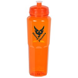View a larger, more detailed picture of the PolySure Retro Sport Bottle - 32 oz