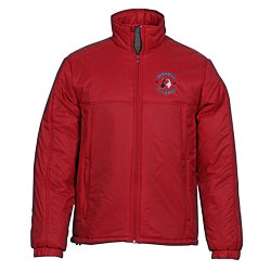 View a larger, more detailed picture of the Harriton Insulated Jacket - Men s