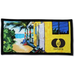 View a larger, more detailed picture of the Gone til Sunset Beach Towel - 30 x 60 - Closeout