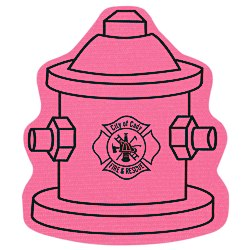 View a larger, more detailed picture of the Cushioned Jar Opener - Fire Hydrant