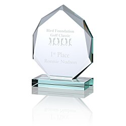 View a larger, more detailed picture of the Eclipse Jade Glass Award - 5